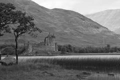 Skottland Kilchurn slott Royaltyfri Foto