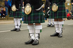 Skottland klassikerkilt Fotografering för Bildbyråer