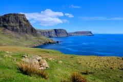 Skottland kust royaltyfri fotografi