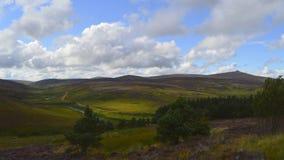 Skottland landskap Arkivfoto