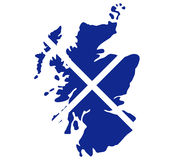 Skottland översikt Fotografering för Bildbyråer