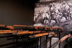 Skottlossningsquad från finlandssvensk inbördeskrig Royaltyfria Bilder