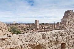 Skoura village Kasba at Morocco Stock Photo