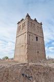 Skoura village Kasba at Morocco Royalty Free Stock Photography
