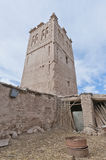 Skoura village Kasba at Morocco Royalty Free Stock Images
