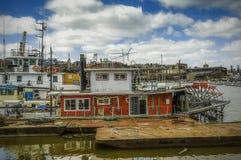Skovelhjulbogserbåt Arkivfoton