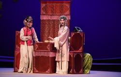 """Skräck av att vara upptäckt-Kunqu västra Chamber†för opera""""the  Royaltyfria Bilder"""