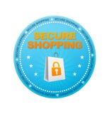 Säkra shopping Royaltyfri Foto