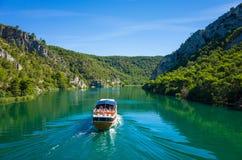 Skradin Хорватия Стоковое фото RF