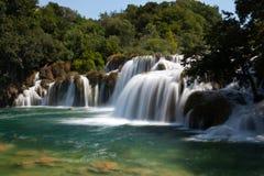 Skradin Buk vattenfall Fotografering för Bildbyråer