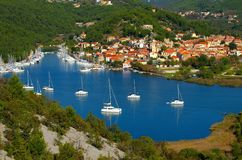 Skradin Stock Photography
