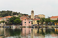 Skradin, Dalmatia, Croatia. Stock Images