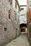 Skradin street Royalty Free Stock Photography