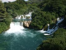 Skradinski Buk, KRKA Waterfall Royalty Free Stock Photos