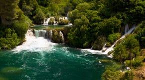 Skradinski Buk - Skradinski waterfall Royalty Free Stock Image