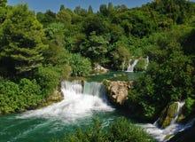 Skradinski Buk waterfall Stock Image
