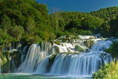 Skradinski Buk waterfall royalty free stock image