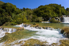 Skradinski Buk waterfall Royalty Free Stock Images