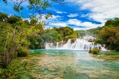 Skradinski Buk Waterfall stock photo