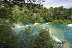 Skradinski Buk - world famous waterfall Stock Photography