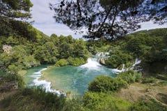Skradinski Buk - world famous waterfall Stock Images