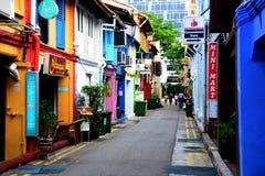 Skraj bar på Haji Lane Arkivbilder
