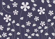 Skraj blommor Arkivbild