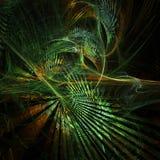 Skraj fractalskog vektor illustrationer