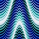 skraj glödande waves Arkivfoton