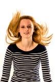 skraj hår Arkivbilder