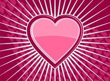 skraj hjärta för bakgrund Fotografering för Bildbyråer