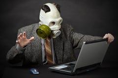 skraju katastrofy ekologiczna ludzkość Fotografia Stock