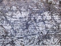 Skrapad makrotextur - metall - Arkivbild