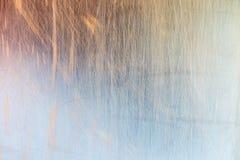 Skrapad metalltextur Fotografering för Bildbyråer