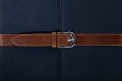 skrapad slitage seamtextur för bälte läder Royaltyfri Fotografi