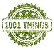 Skrapad texturerad stämpelskyddsremsa för 1001 SAKER royaltyfri illustrationer