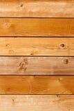 Skrapad timmervägg Ljus wood texturbakgrund Royaltyfria Foton