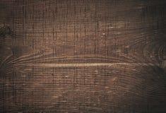 Skrapad träskärbräda för mörk brunt trä Royaltyfri Bild