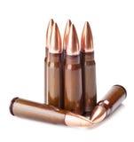 skrapade ammunitionar Arkivbild