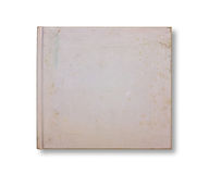 skrapat gammalt för anteckningsbok för blank räkning Arkivfoto