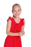 skratta barn för flicka Royaltyfria Foton