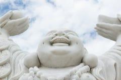 Skratta Buddha  Arkivfoto