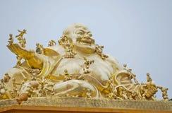 Skratta Buddha Royaltyfri Foto
