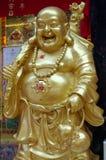 Skratta den buddha statyn thekchen in choling Arkivfoton