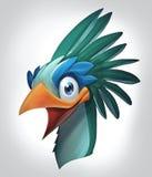 Skratta fågeln vektor illustrationer