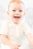 skratta för barn Royaltyfri Fotografi