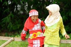 skratta för barn Fotografering för Bildbyråer