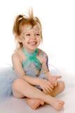 skratta för barn Royaltyfria Bilder