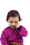 Skratta för barn Arkivfoto