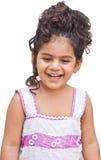 skratta för flickaunge Royaltyfri Foto